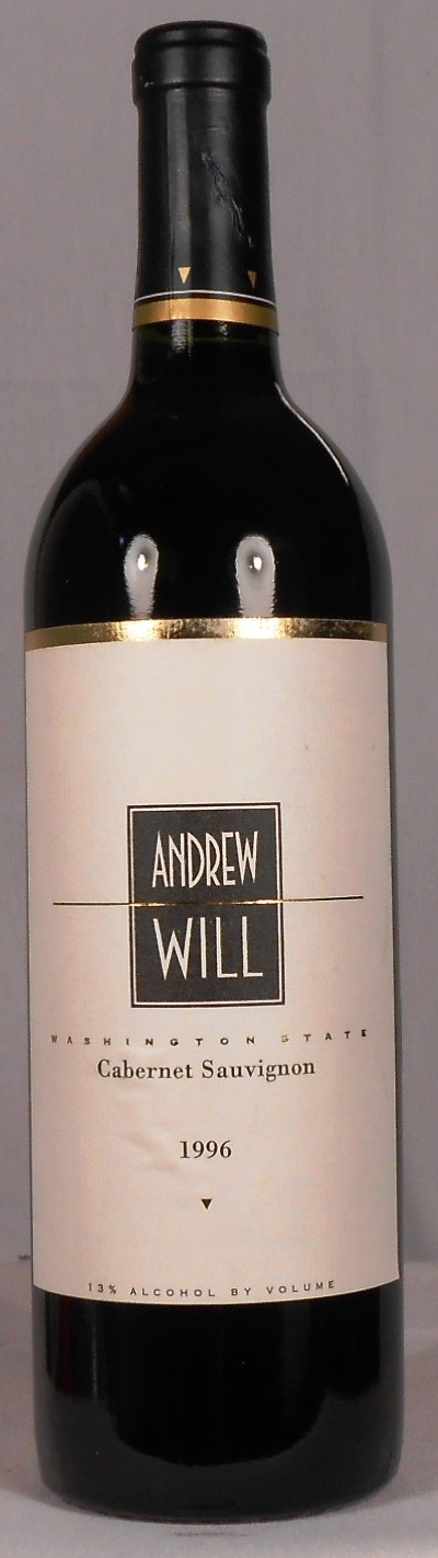 Andrew Will Cabernet Sauvignon Washington 1996