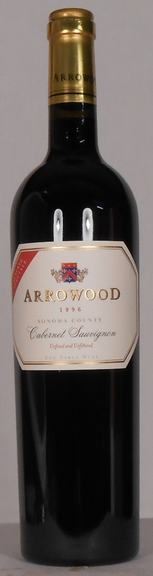 Arrowood Vineyards and Winery Cabernet Sauvignon Special Reserve Sonoma County 1996