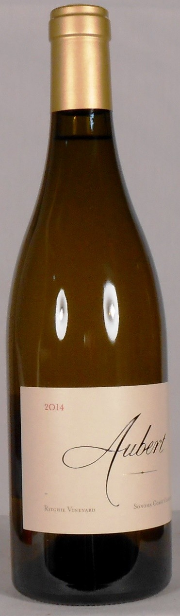 Aubert Wines Chardonnay Ritchie Vineyard Sonoma Coast 2014