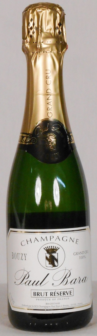 Paul Bara Brut Reserve Champagne NV HALF BOTTLE