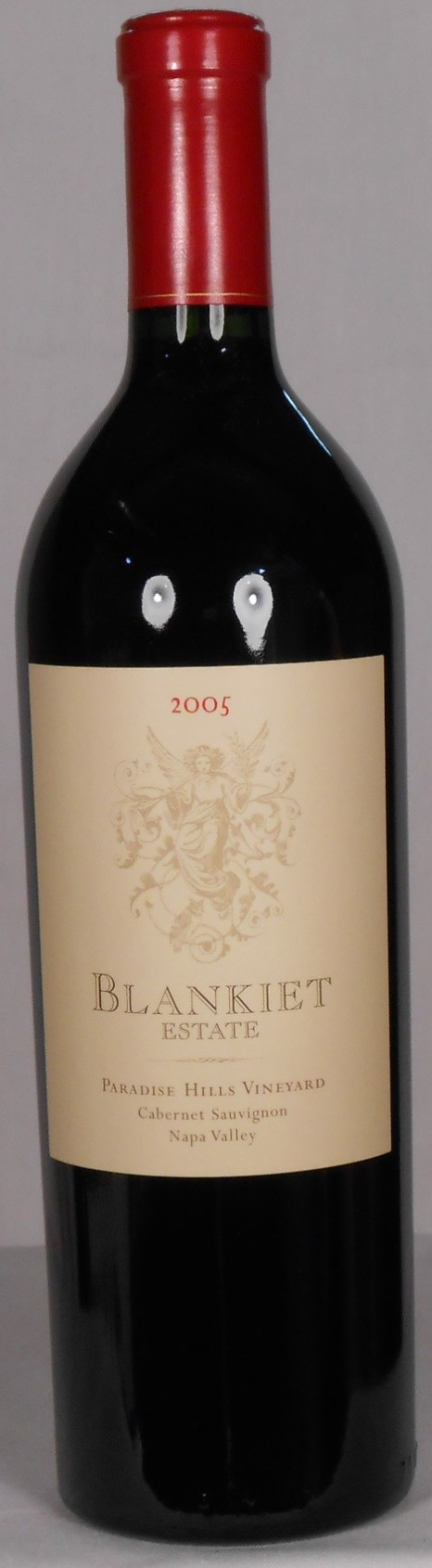 Blankiet Estate Cabernet Sauvignon Paradise Hills Vineyard Napa Valley 2005