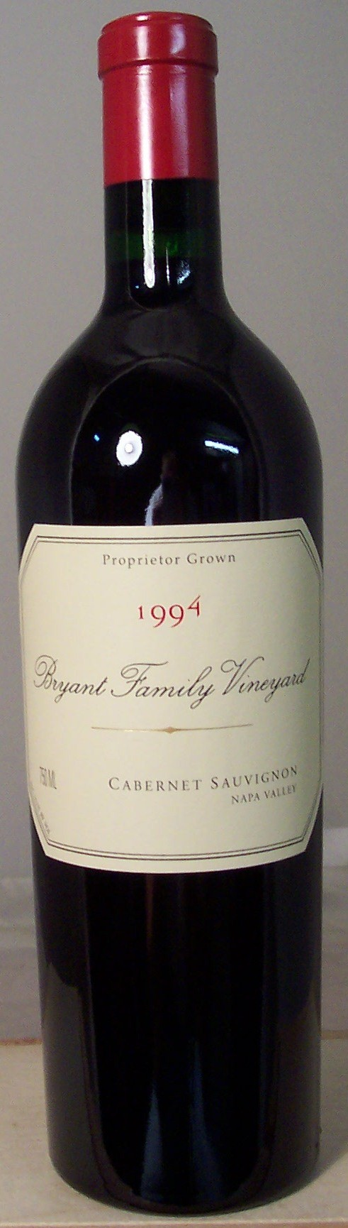 Bryant Family Vineyard Cabernet Sauvignon Napa Valley 1994