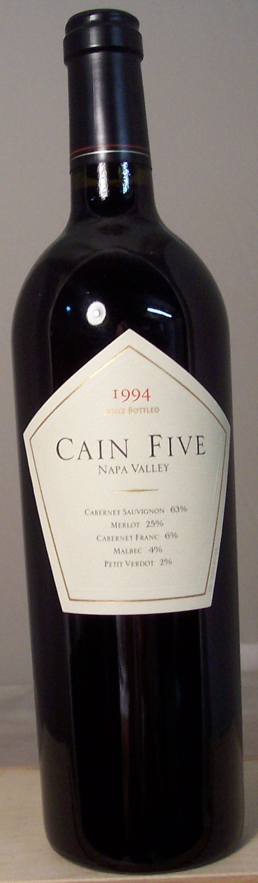 Cain Cellars Cain Five Napa Valley 1994