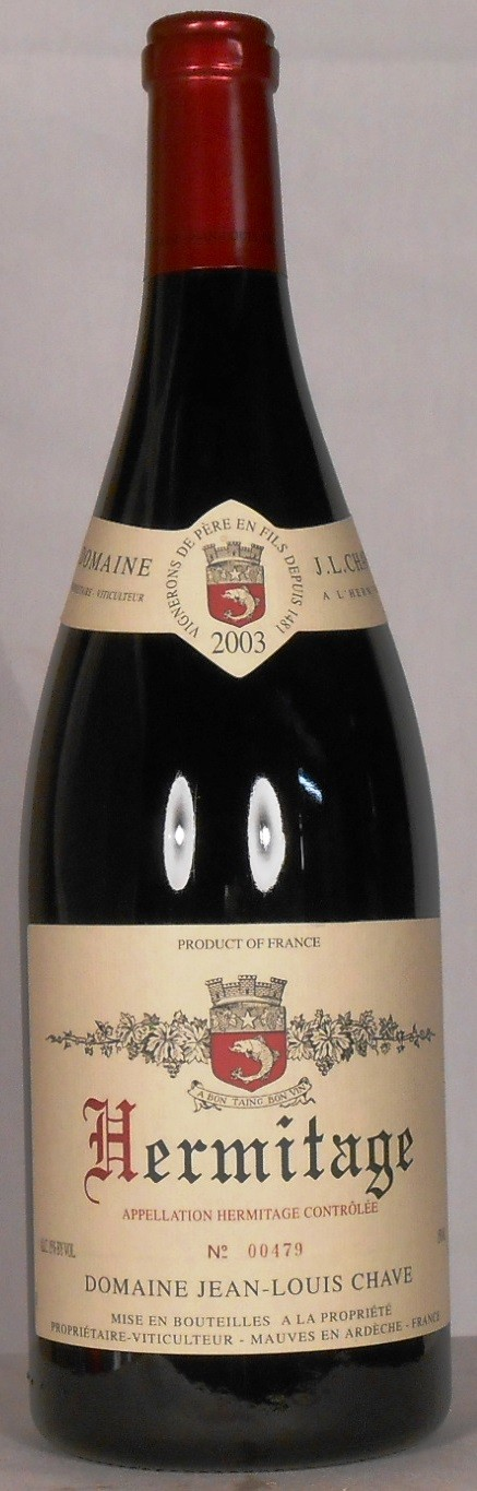Domaine Jean-Louis Chave Hermitage 2003