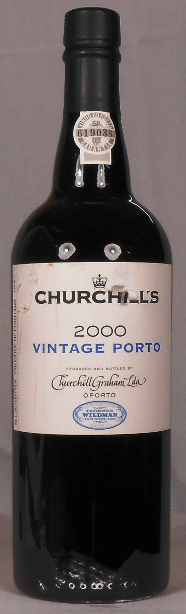 Churchill's Vintage Porto Portugal 2000