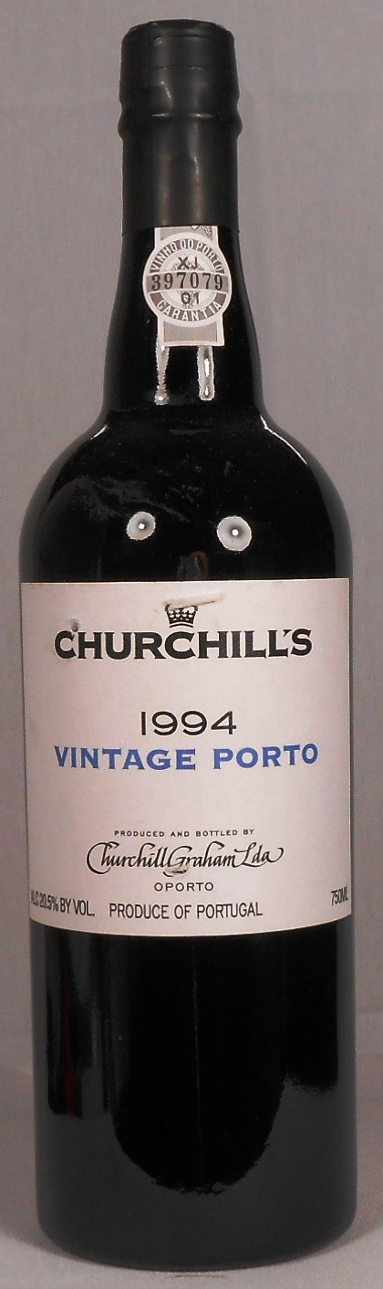 Churchill's Vintage Porto Portugal 1994