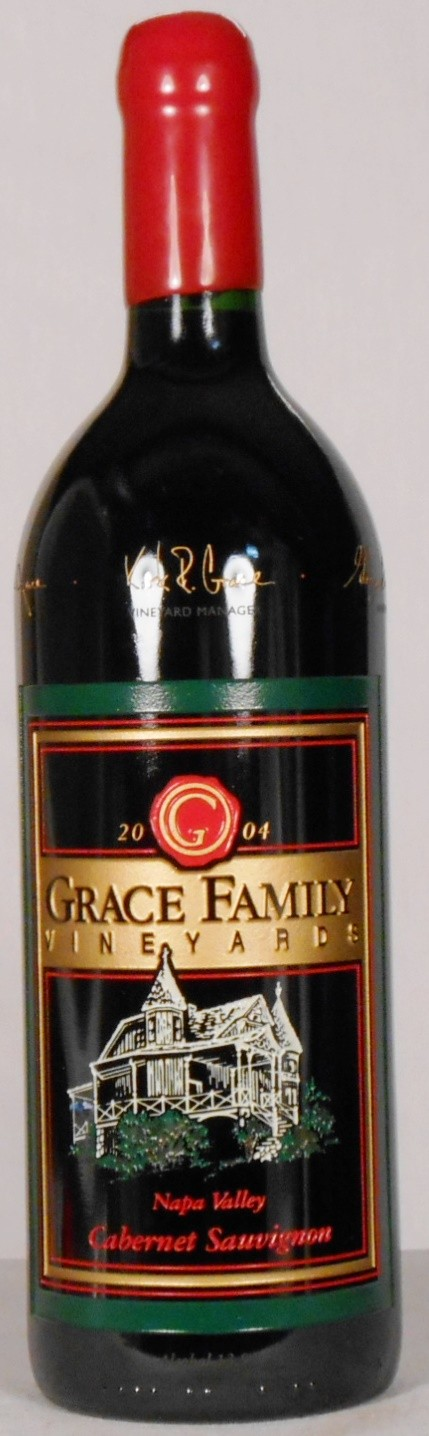 Grace Family Vineyards Cabernet Sauvignon Estate Grown Napa Valley 2004
