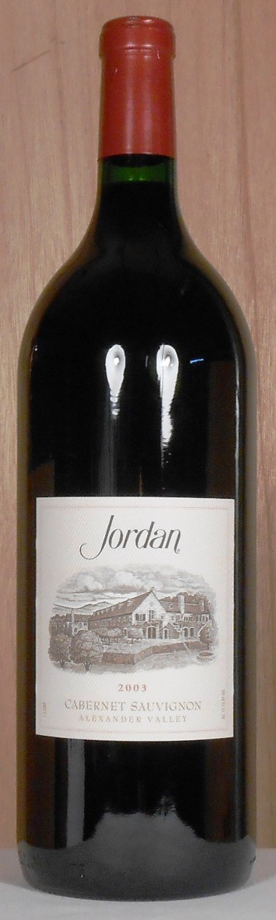 Jordan Vineyard & Winery Cabernet Sauvignon Alexander Valley 2003