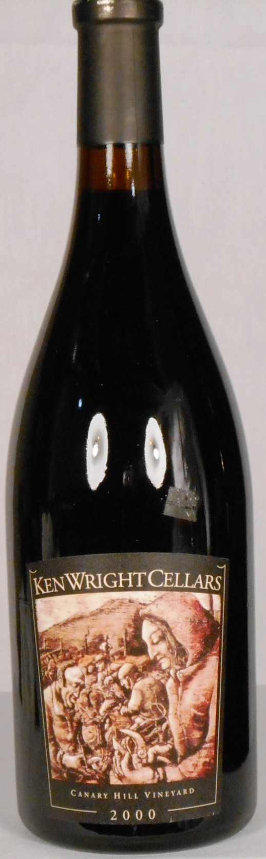 Ken Wright Cellars Pinot Noir Canary Hill Vineyard Eola-Amity Hills 2000