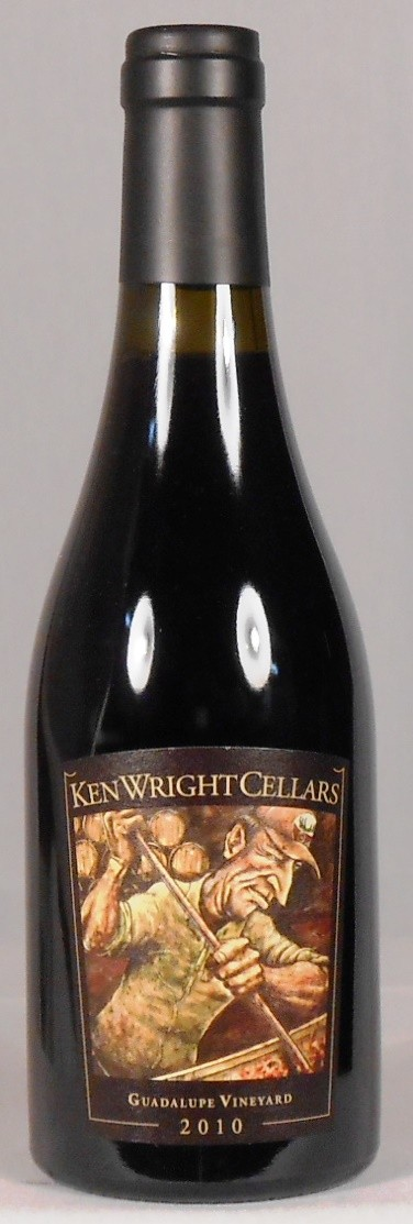 Ken Wright Cellars Pinot Noir Guadalupe Vineyard Yamhill-Carlton District 2010 HALF-BOTTLE
