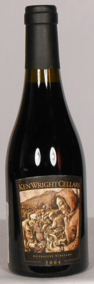 Ken Wright Cellars Pinot Noir Guadalupe Vineyard Yamhill-Carlton District 2004 HALF BOTTLE