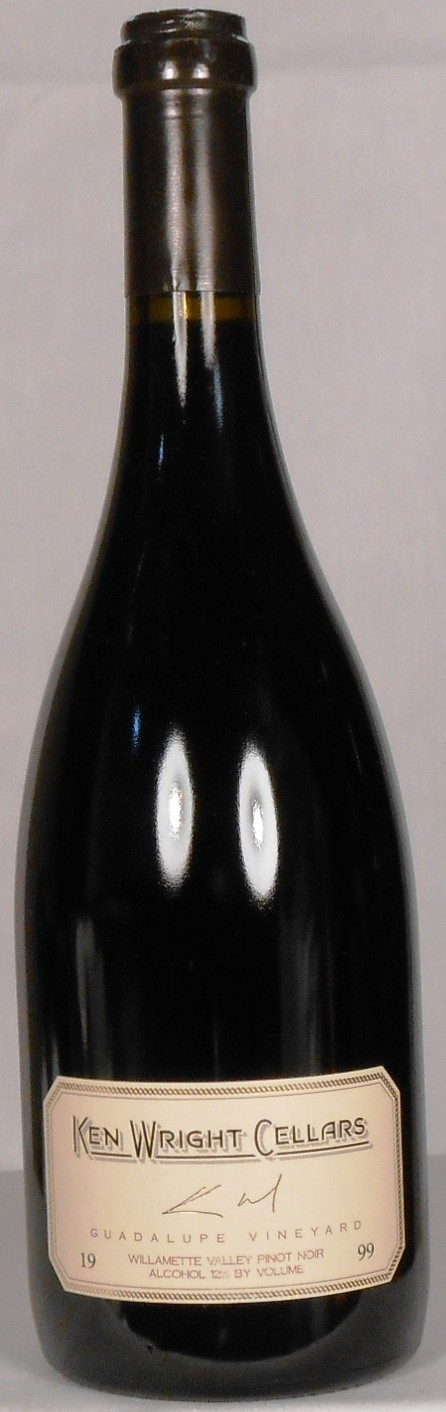 Ken Wright Cellars Pinot Noir Guadalupe Vineyard Yamhill-Carlton District 1999