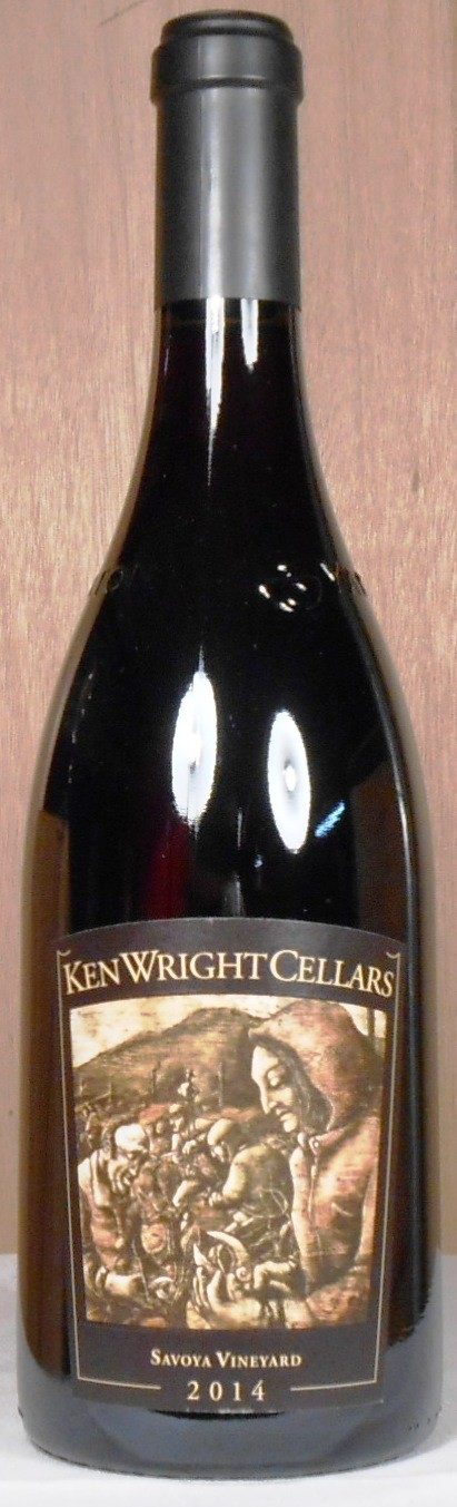 Ken Wright Cellars Pinot Noir Savoya Vineyard Yamhill-Carlton District 2014