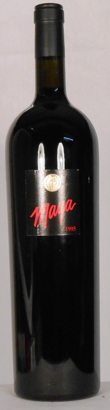 Dalla Valle Vineyards Maya Proprietary Red Wine Napa Valley 1995