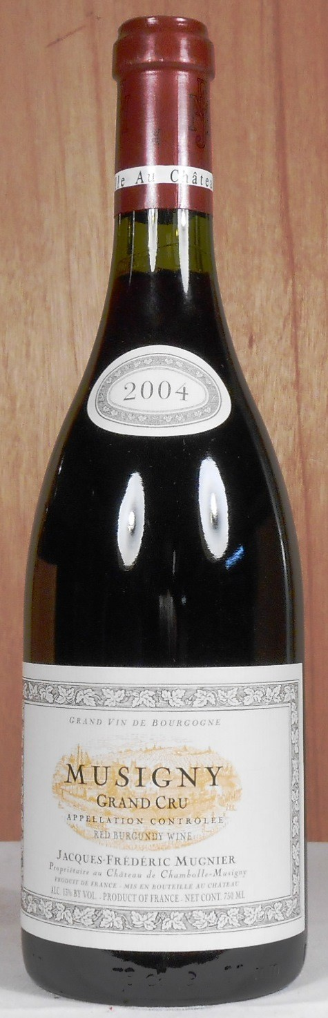 Domaine Jacques-Frederic Mugnier Musigny 2004