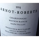 Arnot-Roberts Chardonnay Watson Ranch Vineyard Napa Valley 2014