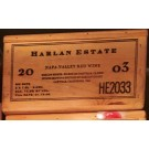 Harlan Estate Original Wooden Case 2003 Magnum