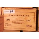 Harlan Estate Original Wooden Case 2004