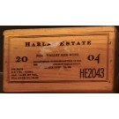 Harlan Estate Original Wooden Case 2004 Magnum