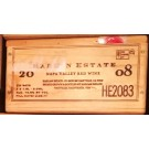 Harlan Estate Original Wooden Case 2008 Magnum