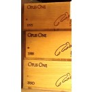 Opus One Original Wooden Case 1988