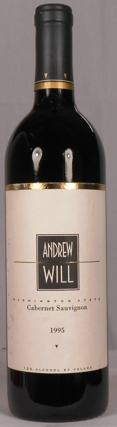 Andrew Will Cabernet Sauvignon Washington 1995