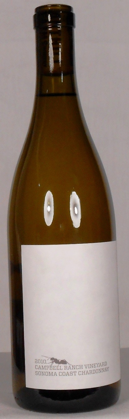Anthill Farms Chardonnay Campbell Ranch Vineyard Sonoma Coast 2010