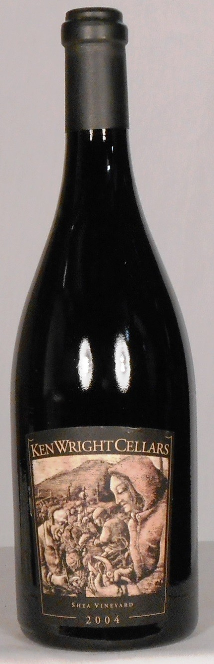 Ken Wright Cellars Pinot Noir Shea Vineyard Yamhill-Carlton District 2004