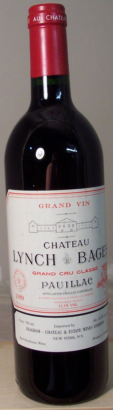 Chateau Lynch Bages Pauillac 1989