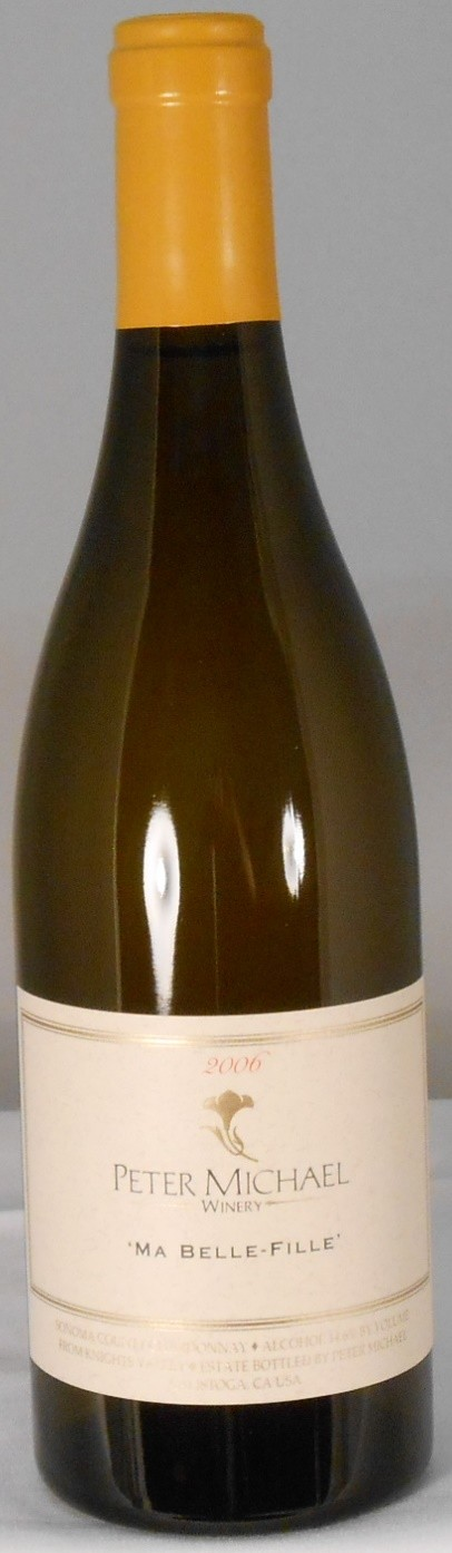 Peter Michael Winery Chardonnay Ma Belle Fille Knights Valley 2006